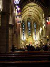 Photo: The next morning we are at The American Cathedral in Paris for an Anglican service.