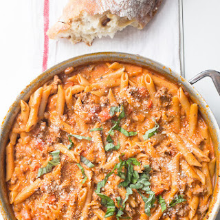 One-Pot Creamy Sausage Pasta