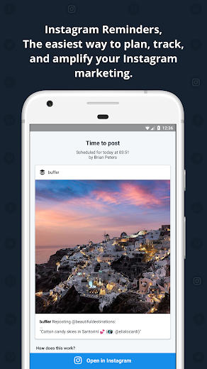 Screenshot 2 for Buffer's Android app'
