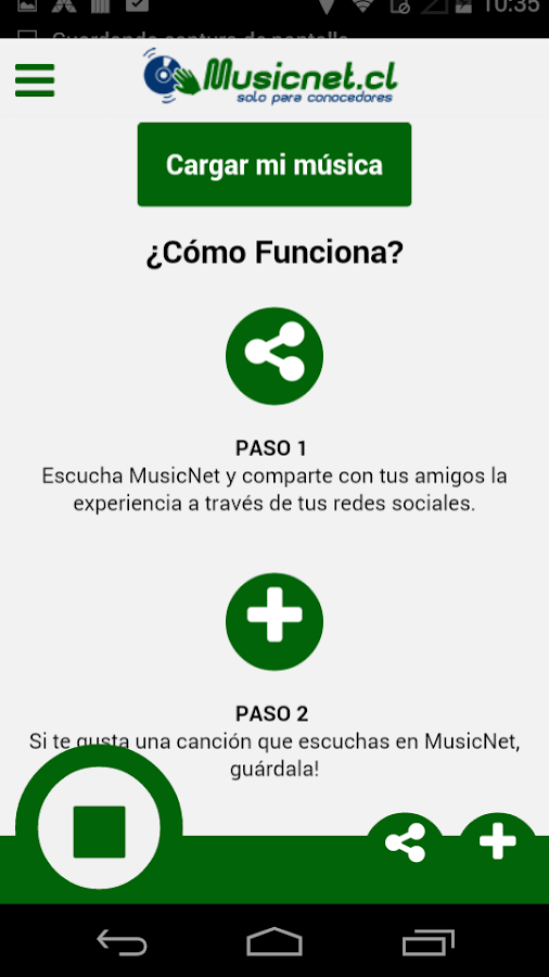 MusicNet Solo para conocedores- screenshot