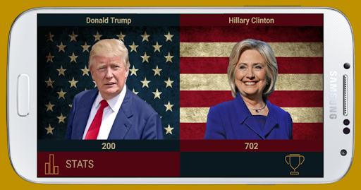 Trump vs Clinton Screenshot