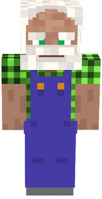 old man farmer