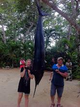 Photo: Paul with his Marlin at Savasi