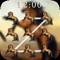Horses Pattern Lock Screen 🐴 icon