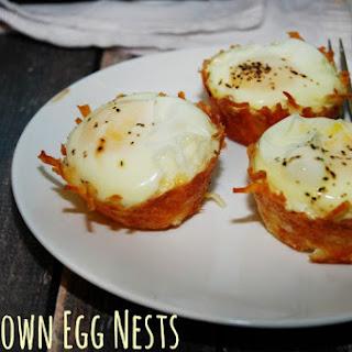 Hashbrown Egg Nests