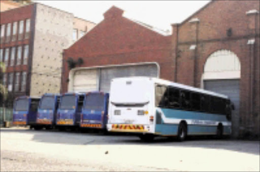 VROOM: The long queues at Durban taxi ranks and train stations may soon be over as buses return. Pic: Thuli Dlamini. Circa 2009. © Sowetan