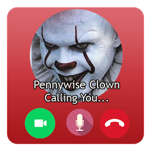 Fake Video Call Pennywise Clown - náhled