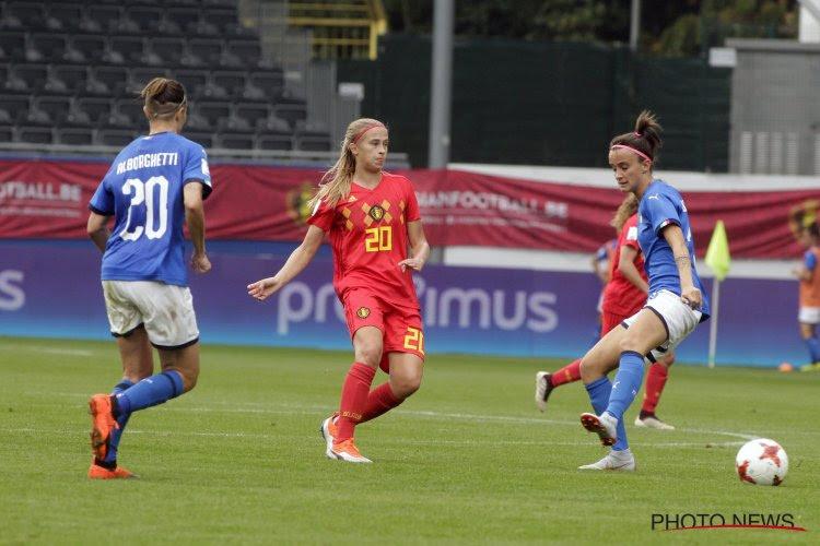 """Julie Biesmans beschouwt voor op WK-kwalificatiecampagne: """"Goede loting"""""""