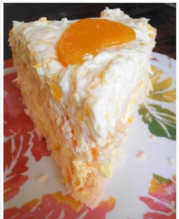 Easy Orange Coconut Cake Recipe