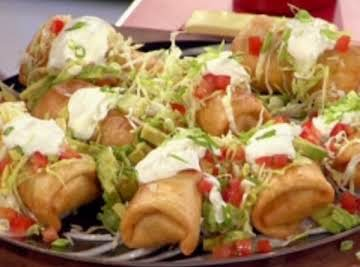 Top Notch Top Round Chimichangas