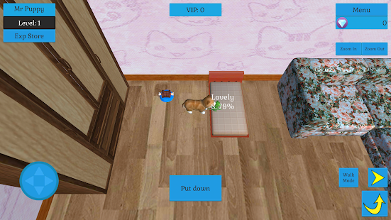Cute Pocket Cat And Puppy 3D - náhled