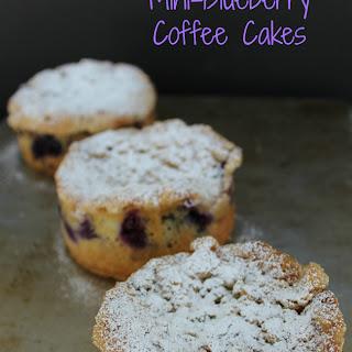Mini-Blueberry Coffee Cakes