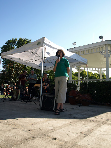 Photo: Mayor Patterson - Opening Ceremony