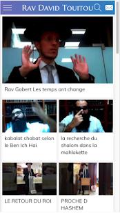 Rav David Touitou - L'appli' - náhled