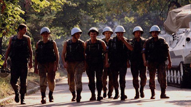 Украинские миротворцы в Сараево, 1992 год