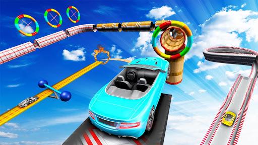 Prado Stunt Racing Car Games - 3D Ramp Car Stunts apktreat screenshots 2
