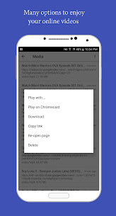 Amaze Browser. Cast web videos App Download For Android 3