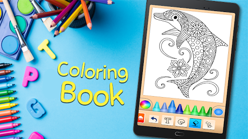 Coloring game for girls and women 14.6.2 Screenshots 5