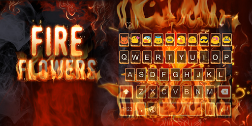 Flame-Emoji Keyboard