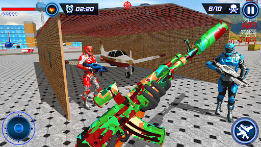 FPS Robot Shooter Strike: Anti-Terrorist Shooting apkpoly screenshots 12