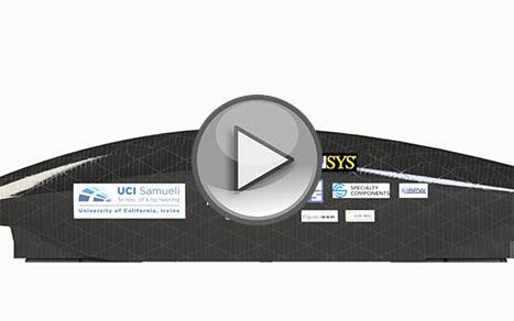Команда HyperXite работала над проектом Hyperloop и использовала ANSYS для моделирования задачи о восприятии силы тяжести капсулы