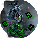 Cool motorcycle rider keyboard Download on Windows
