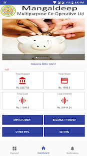 Mangaldeep Mobile Banking for PC-Windows 7,8,10 and Mac apk screenshot 1