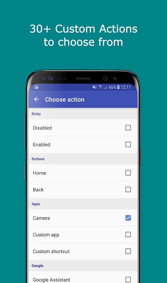 Bixbi Button Remapper - bxActions Screenshot 6