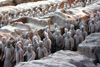 Photo: Day 188 -  Terracotta Warriors in Xi'an - Pit 1 (China)