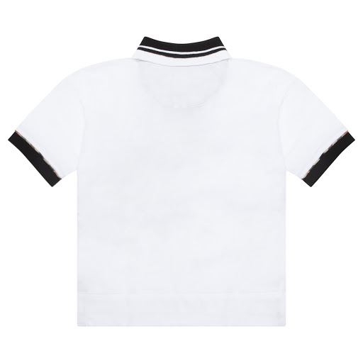 Thumbnail images of Burberry Contrast Polo Top