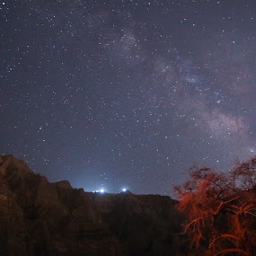 Milky way by Salman Ahmed - Landscapes Starscapes ( mountains, stars, long exposure, night, milky way )