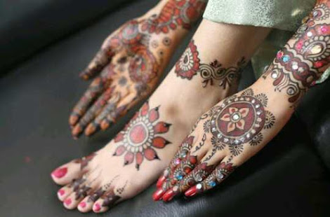 Mehndi Ankle Images : 1000 mehndi designs 2016 apps on google play