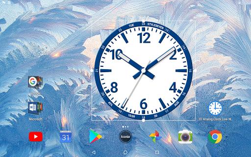 Analog Clock Set Live Wallpaper-7 App Report on Mobile