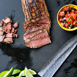 Carne Asada {Grilled Beef for Salads, Tacos, and Burritos}.
