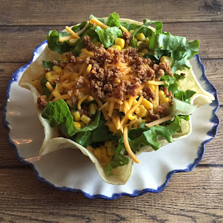 Easy Taco Salad Recipe In Taco Shell Bowls