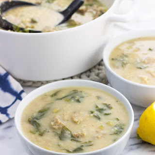 Creamy Italian Wedding Soup with Turkey Meatballs Recipe