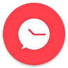 Scheduled — Schedule your text messages icon