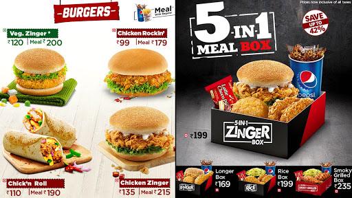 KFC menu 2