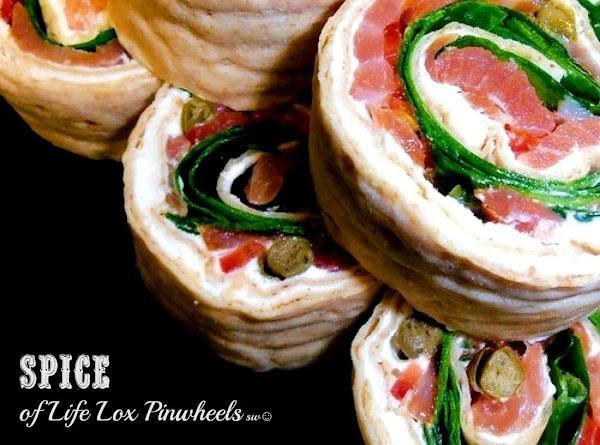 Spice Of Life Lox Pinwheels Recipe
