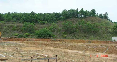 Photo: CHN-UR16 - The stadium/college site five years later.  Fully stable with native plants established.
