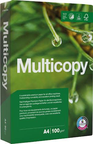 Papper Multicopy A4 100g 500/p