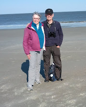 Photo: Jane and Randy. Atlantic Ocean. Tybee Island, GA