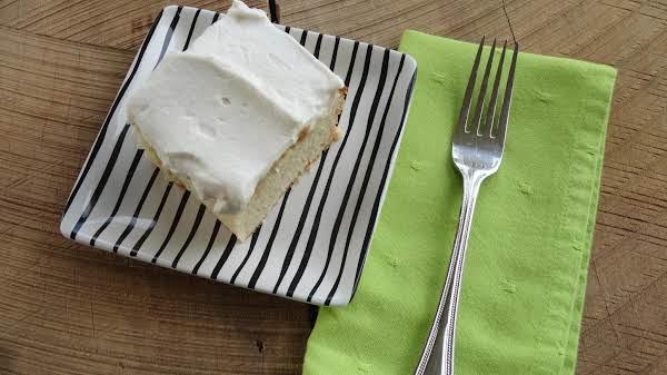 Mom's Tres Leches Cake Recipe
