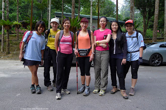 Photo: Tan Lai Peng, Sachi, Wendy, Tracy Chan, Amy, Lana and SuWF