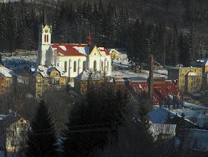 Photo: Joseful Dul church and factory