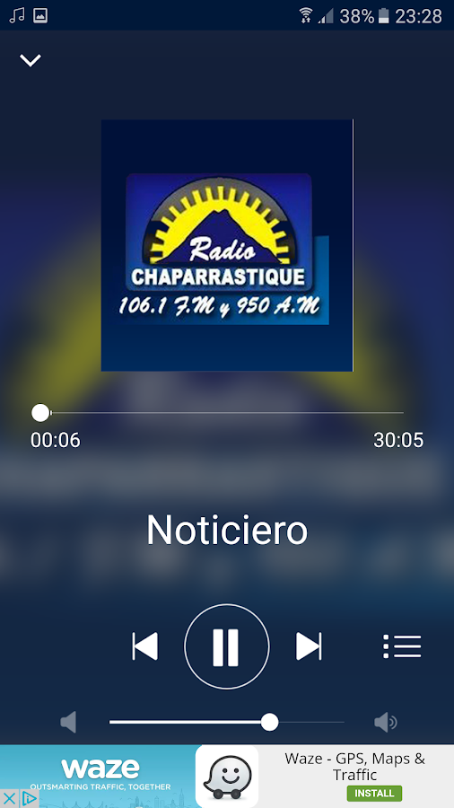 Radio Chaparrastique- screenshot