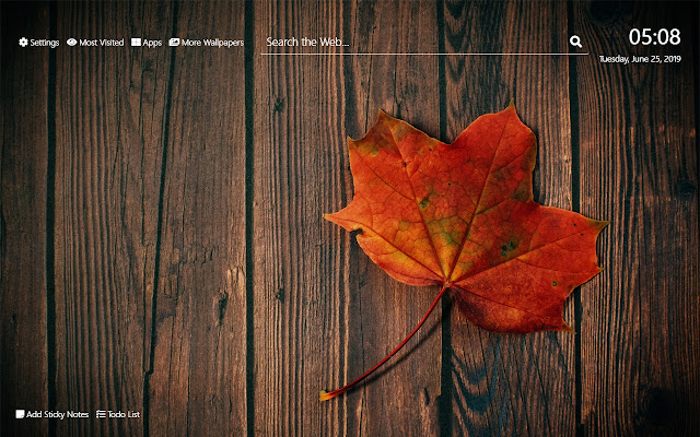 Autumn Leaves Wallpaper Hd New Tab Theme