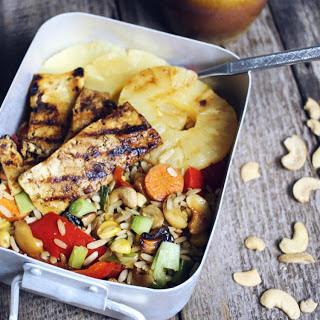 Pineapple and Cashew Stir Fry with Caramelized Tofu [Vegan] Recipe