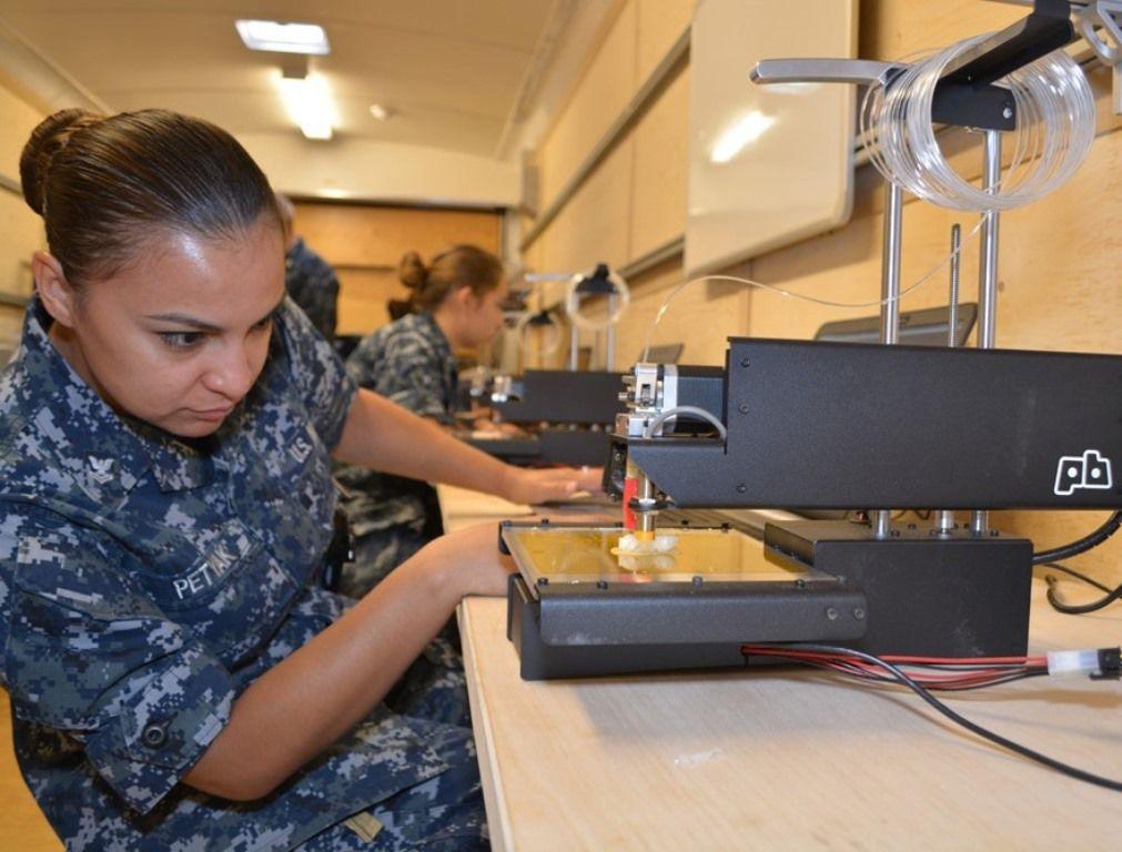 ВМС США представляют инновации по 3D прототипированию в Пентагоне