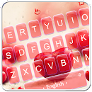 Red Heart Keyboard Theme file APK Free for PC, smart TV Download